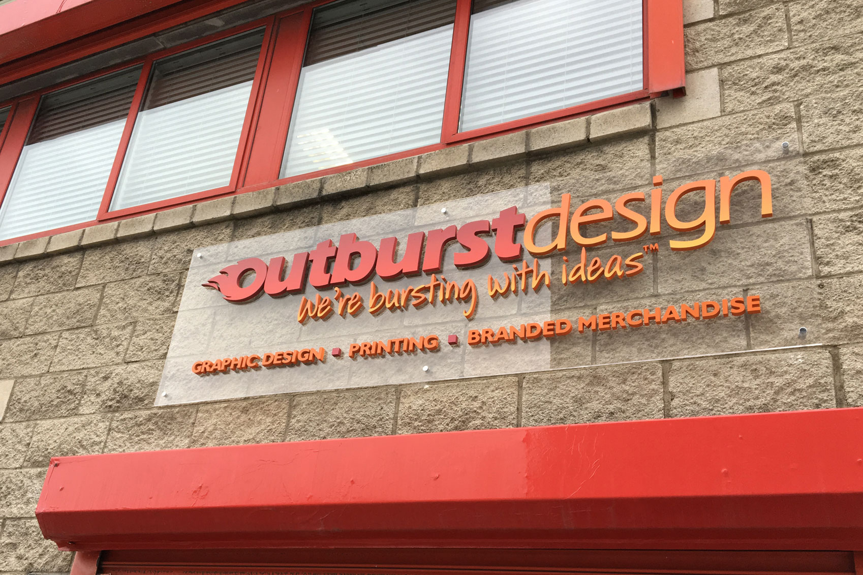 Outburst Design specailises in a number of different print process, including litho & digital printing